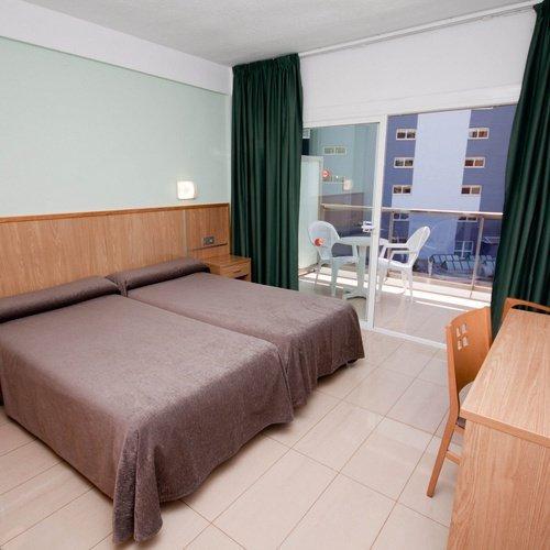 Habitación doble Hotel  Perla