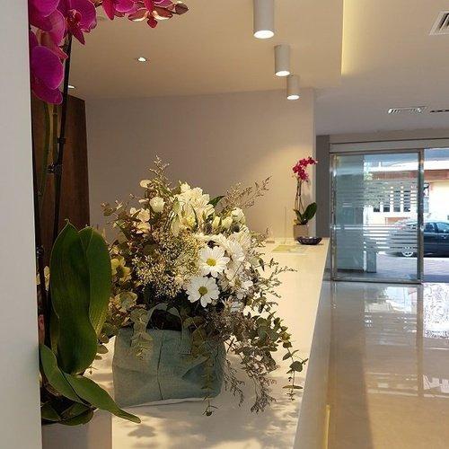 recepcion5 Hotel  Perla